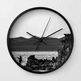 Mono Lake 6 Wall Clock