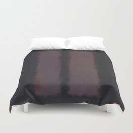Black on Maroon 1958 by Mark Rothko Duvet Cover
