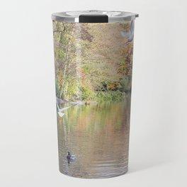 Birds in Autumn #1 Travel Mug