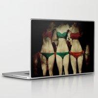 bikini Laptop & iPad Skins featuring Bikini Peepshow by Bella Blue Photography
