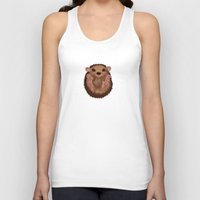 hedgehog Tank Tops featuring Hedgehog by Lilybet