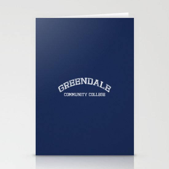 Greendale Community College Stationery Cards