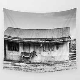 Lonely Donkey Wall Tapestry