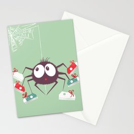 Halloween Spider Stationery Cards