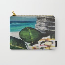 Frangipani Dreaming  Carry-All Pouch
