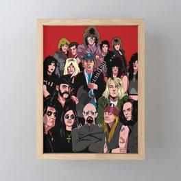 It's Only Rock N Roll Framed Mini Art Print