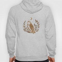 Owl Moon - Gold Hoody