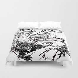 ALICE HARAJUKU TWISTED  Duvet Cover