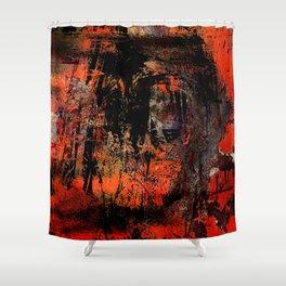 My Red Instinct Shower Curtain