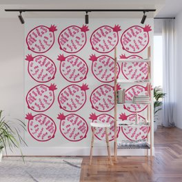 Patterns of Pomegranates Wall Mural