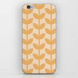 Amber Leaves iPhone Skin