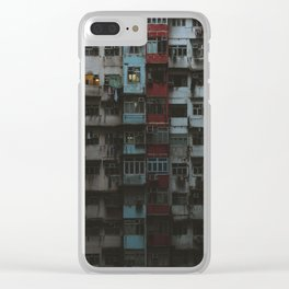 Hong Kong Estates Clear iPhone Case