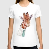 toddler T-shirts featuring Mr Giraffe by Animal Crew
