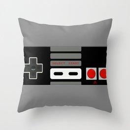 Retro Game Console Throw Pillow