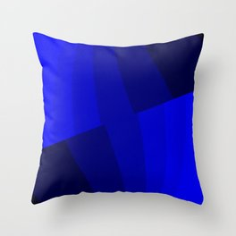 Just Blue #decor #society6 Throw Pillow