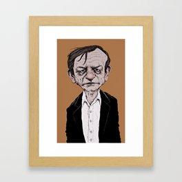 Mark E. Smith - The Fall Framed Art Print