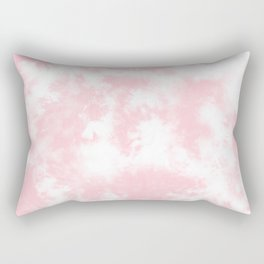 Pink Tie Dye & Batik Rectangular Pillow