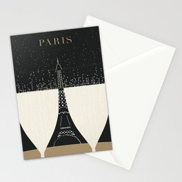 Vintage poster - Paris Stationery Cards