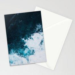 Wild ocean waves II Stationery Cards