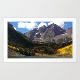 Aspen Gold Art Print