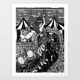 Dark Circus Art Print