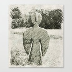 Adobe Angel IV Canvas Print
