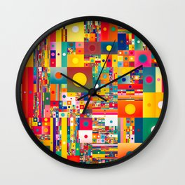 grit Wall Clock