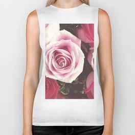 Roses are Love Biker Tank