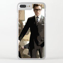 Eggsy 3 Clear iPhone Case
