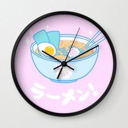 Cute Ramen Wall Clock