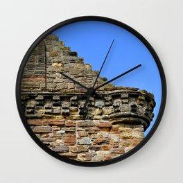 Edinburgh Castle & Sky Wall Clock
