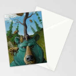 Disavowing Bear Stationery Cards