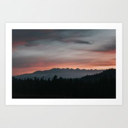 Mountainscape - Landscape and Nature Photography Art Print