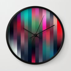 Parrot stripe Wall Clock