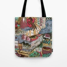 Rocky Campground Tote Bag