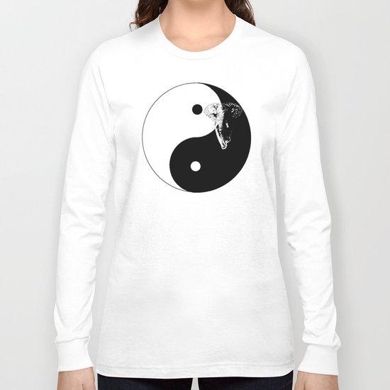 The YIN YANG ELEFANT - LIFE CURRENT series... Long Sleeve T-shirt