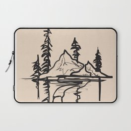 Abstract Landscpe Laptop Sleeve