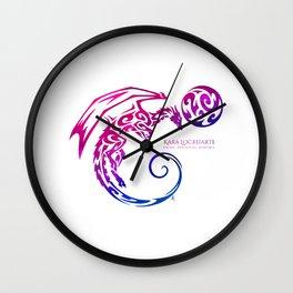 Kara Lockharte's Dragons: Escape. Adventure. Romance. Wall Clock