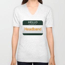 Headband Unisex V-Neck