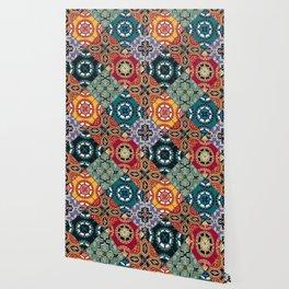 DESEO BOLD spanish tiles Wallpaper
