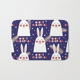 Mery Bunny Bath Mat