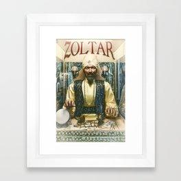 Zoltar the fortune teller London England UK Framed Art Print