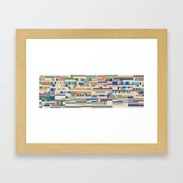 Chromatetude (Soft Colours) Framed Art Print