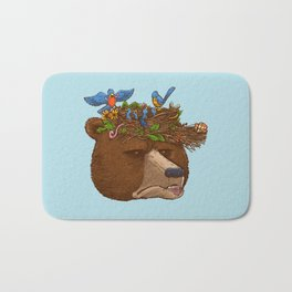 Mr Bear's Nature Hat 2017 Bath Mat