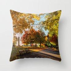 Crazy Fall Throw Pillow