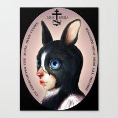 The Last Bunny  Canvas Print