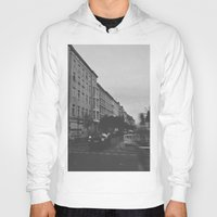 berlin Hoodies featuring Berlin by Jane Lacey Smith