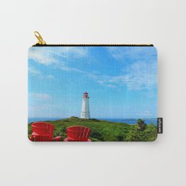 Louisbourg Lighthouse Carry-All Pouch