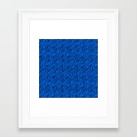 polka dots Framed Art Prints featuring Polka dots by Cherie DeBevoise