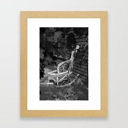 If Chairs Could Talk Framed Art Print